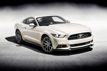 50-Year Limited Edition Ford Mustang