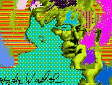 Andy Warhol's Amiga Experiments: Lost Digital Works