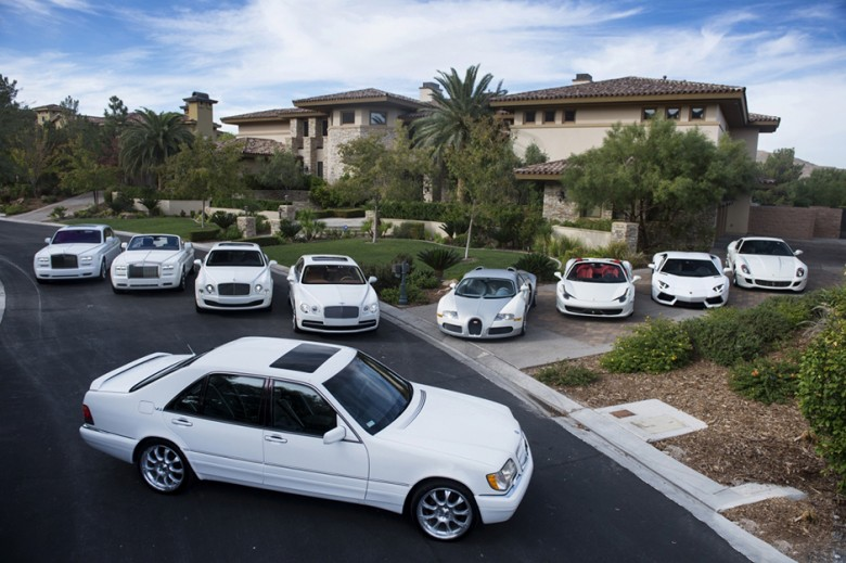 Floyd Mayweather's Las Vegas Car Collection