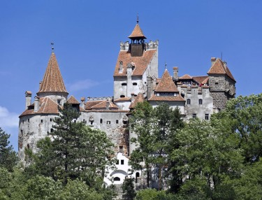 Bran Castle, aka Dracula's castle, for sale