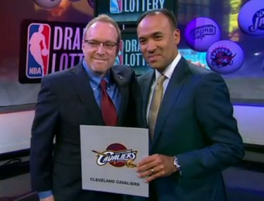 Cavaliers get no. 1 pick in 2014 NBA Draft
