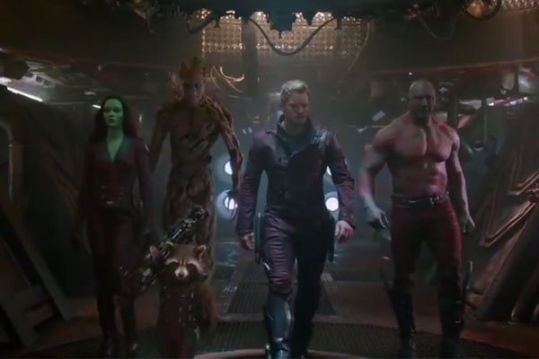 Guardians of the galaxy trailer 2 for Jackson galaxy band
