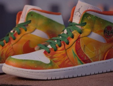 Bacardi x Mache Customs: Custom Jordan 1's