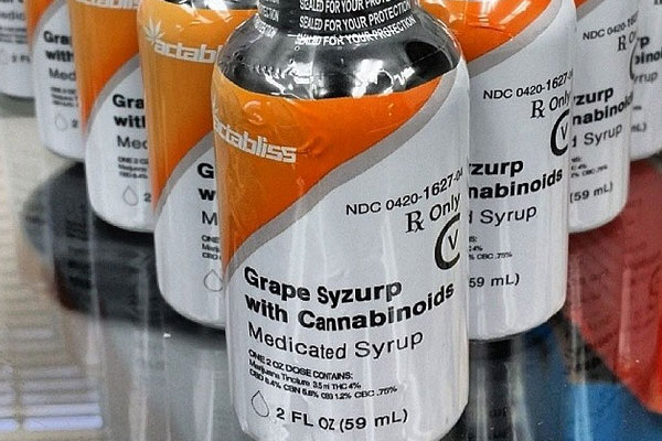 Grape Syzurp with Cannabidnoid by Actabliss