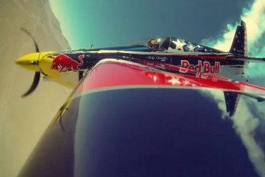 Red Bull Battle: B-Boys Vs. Air Race Plane