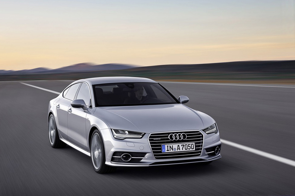 2015 Audi A7 and S7