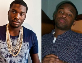 Meek Mill and Louie V Gutta