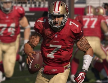 Colin Kaepernick gets tattoos in Madden 15