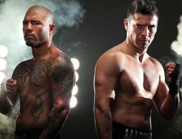 Miguel Cotto and Sergio Martinez