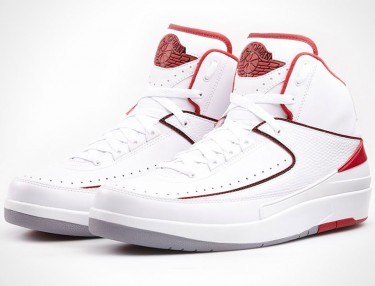 Air Jordan 2 White/Varsity Red
