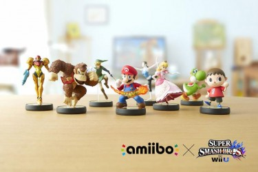 Nintendo amiibo action figures