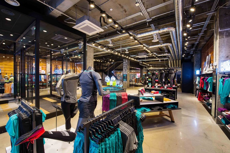 Nike Opened Its Latest Retail Store On Thursday June 12 In The Heart Of Downtown Seoul Brand New Gangnam