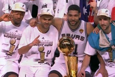 Spurs win 2014 NBA Finals