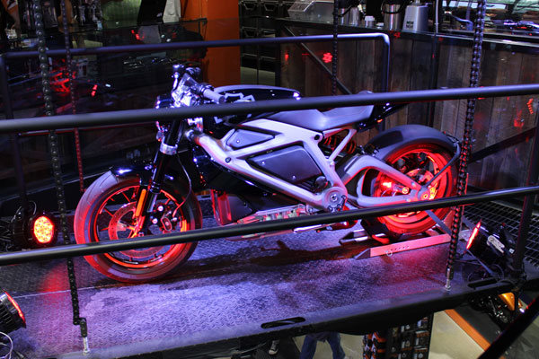 First Look A Harley-Davidson's Project LiveWire