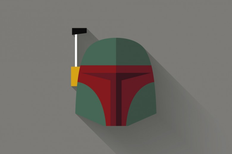 Star Wars Long Shadow Flat Design Icons by Filipe Carvalho