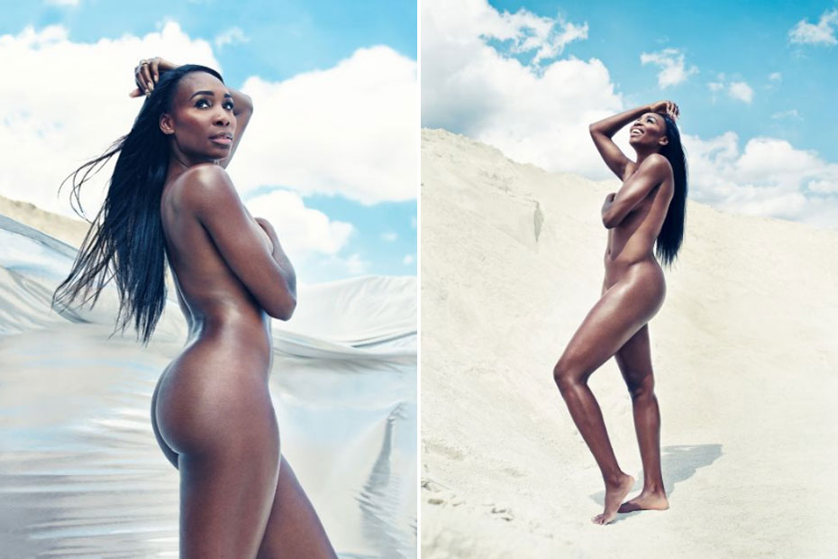 Has serena williams been nude