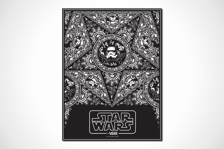 Vans x Star Wars Limited Comic-Con 2014 Posters