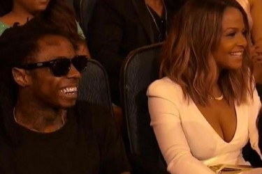 Lil Wayne and Christina Milian at 2014 ESPYS