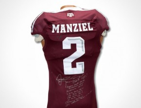 Johnny Manziel's Texas A&M jersey