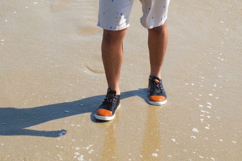 Summer Vibes With Freewaters' Gibson Shoe