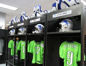 Detroit Lions recycled jerseys