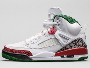 Air Jordan Spizike Cement/Classic Green