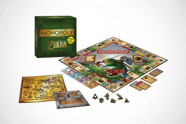 Legend Of Zelda-Themed Monopoly Set