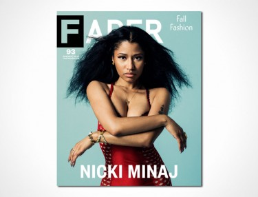 Nicki Minaj covers August/September 2014 issue