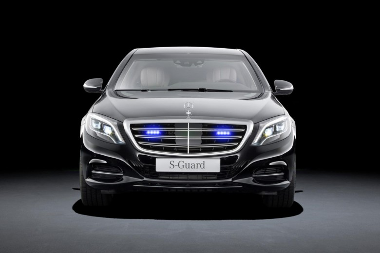 Mercedes-Benz Armored S600 Guard