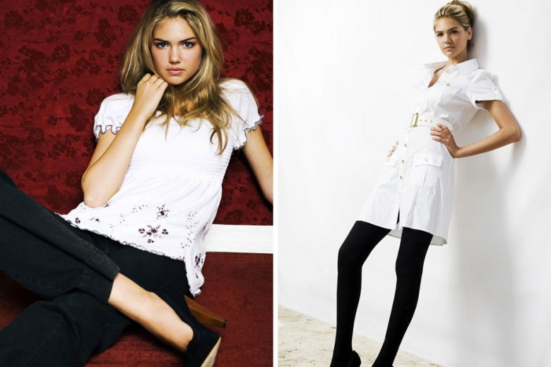 15-Year-Old Kate Upton's First Modeling Shots