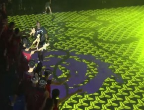 Nike RISE 'House Of Mamba' LED Court
