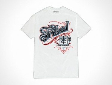 Tribal x Mister Cartoon 25th Anniversary T-Shirt