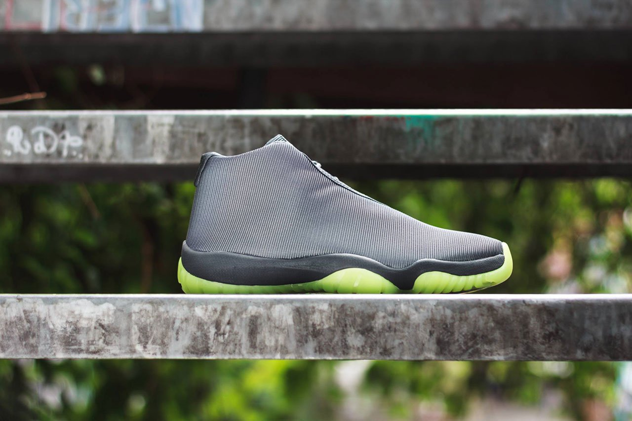 Air Jordan Future Dark Grey/Volt