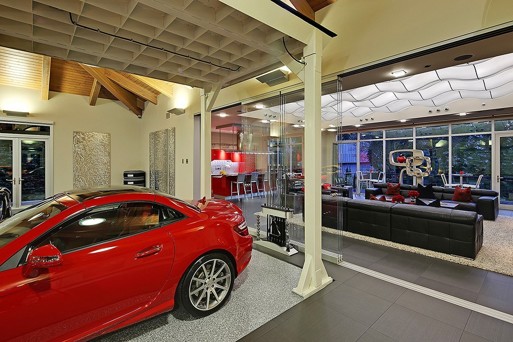 Inside $4M Car Enthusiast Home With 16-Car Garage