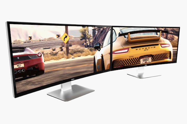 Dell U3415W - Ultra-Wide Curved Monitor