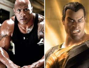 The Rock and Black Adam