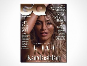 British GQ - Woman Of The Year 2014 - Kim Kardashian