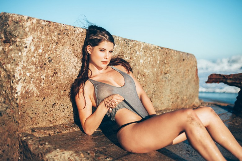 Amanda Cerny Summer is Over by Mat Abad