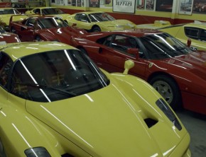 Phil Bachman's Massive Ferrari Collection