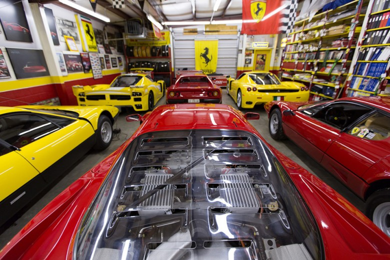 Phil Bachman's Ferrari Collection For Forza Magazine