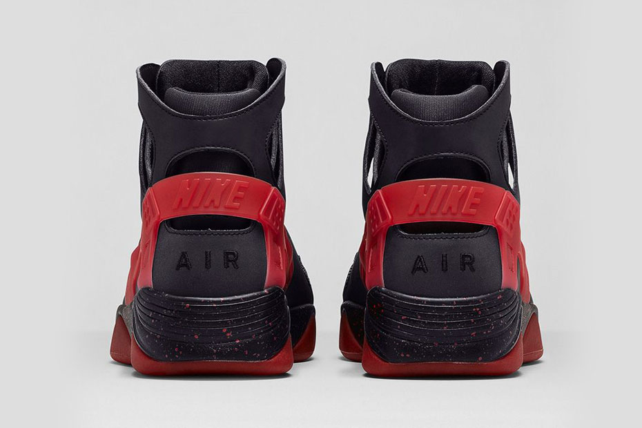Nike Air Flight Huarache -- Black/Anthracite-Challenge Red