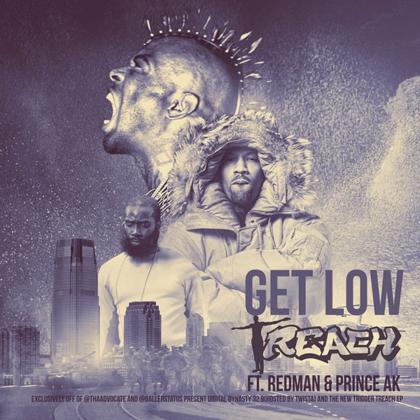 Treach ft. Redman, Prince AK - Get Low (DD32 Exclusive)