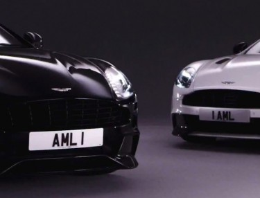 Aston Martin Teases Vanquish Carbon Edition