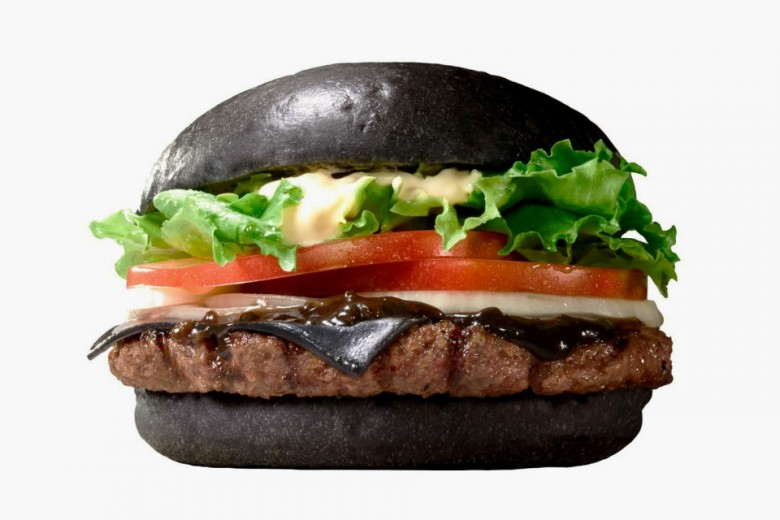 Burger King Japan Black Burger