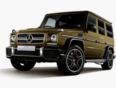 Mercedes-Benz G63 AMG 35th Anniversary Edition