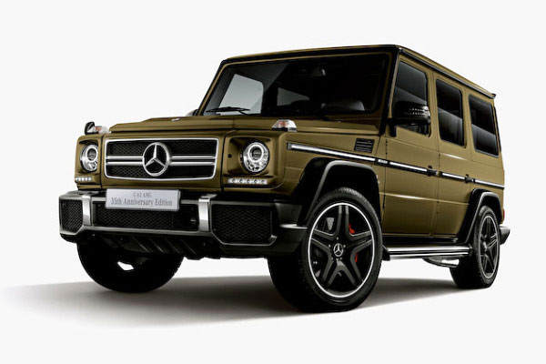 Mercedes-Benz G63 AMG 35th Anniversary Edition ...