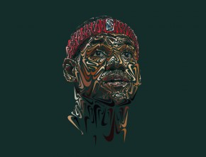 LeBron James by Andy Gellenberg