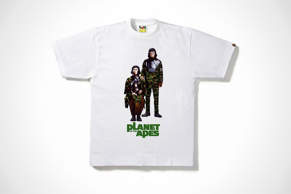 BAPE x Planet Of The Apes 2014 Capsule Collection