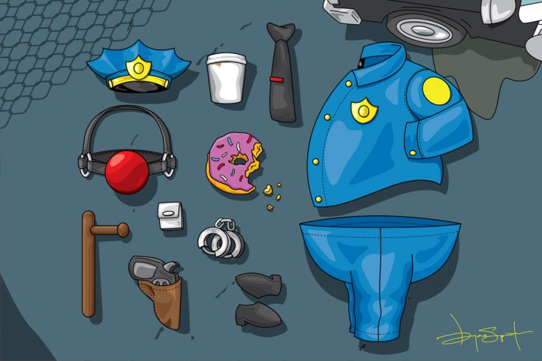 'The Simpsons' Outfit Grids By Bryan Espiritu