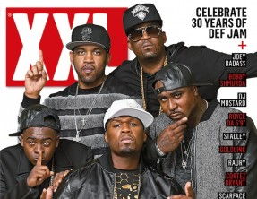 G-Unit on XXL Oct/Nov 2014 issue